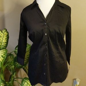 Nwt 212 Collection Black blouse